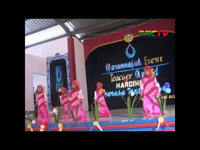 Penampilan Tari Anak TK Darunnajah Cipining | Darunnajah Even of Teacher Award