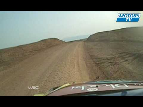 WRC Crash Hirvonen Rally Jordan Day 2
