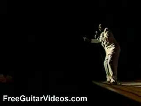 Jody Worrell blues guitar solo at Montreux