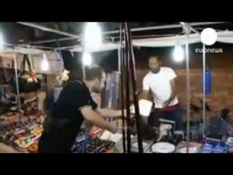 EURONEWS - Greece's Golden Dawn attack market vendors