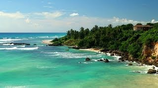 Tropical Ocean Sounds with Amazing Beach Sceneries - 4 Hours