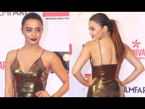 Surveen Chawla Hot At Filmfare Glamour And Style Awards 2017