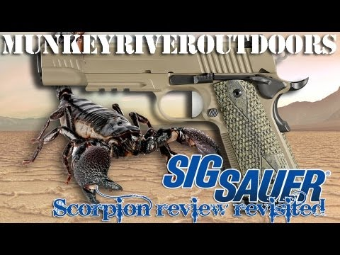 SIG SAUER® 1911 Scorpion .45ACP Review - Part II