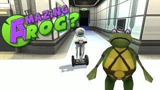 Amazing Frog ? # 8 - Turtles im Raumanzug