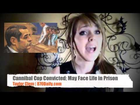 Cannibal Cop Convicted - May Face Life in Prison