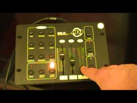 Brian Looks At The American DJ RGB 3C LED Controler