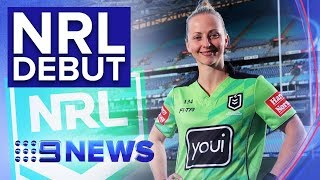 Belinda Sharpe to make history as NRL's first female referee | Nine News Australia