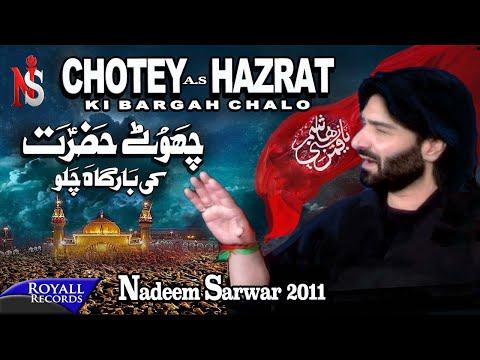 Nadeem Sarwar   Chotey Hazrat   2011