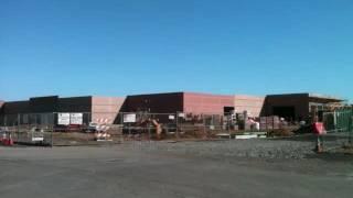 walmart build in Suisun, Ca: time lapse photography