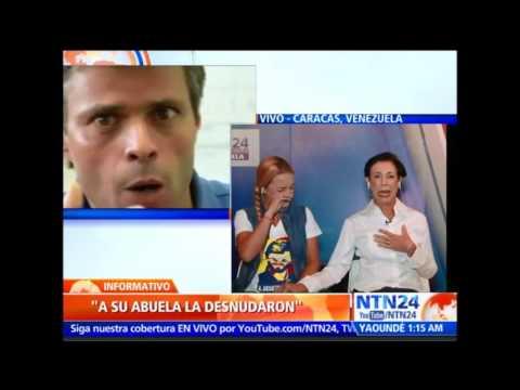 Esposa y madre de Leopoldo López entregaron en NTN24 desgarrador testimonio de nuevos abusos