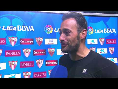 Entrevista a Beto tras el Sevilla FC (1-1) Athletic Club - HD