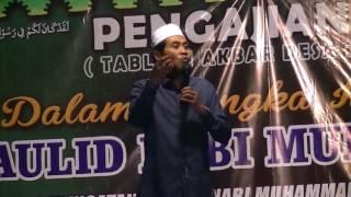 Pengajian Umum K H Anwar Zahid   Landungsari Malang 30 11 2016