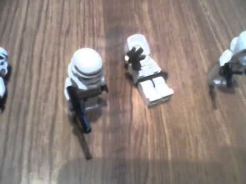 Lego star wars Clone troopers vs storm troopers