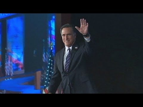 Mitt Romney Returns Home