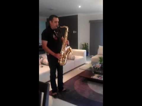 Sandy Saxophone.3gp Tere Bina Zindagi Se Shikwa To Nahin.. video