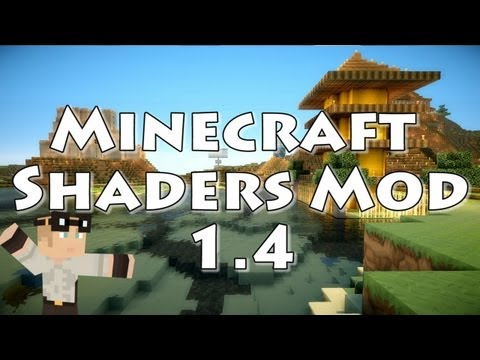 Minecraft 1.4.2:  Sonic Ether's Unbelievable Shaders Mod (previously 1.4)