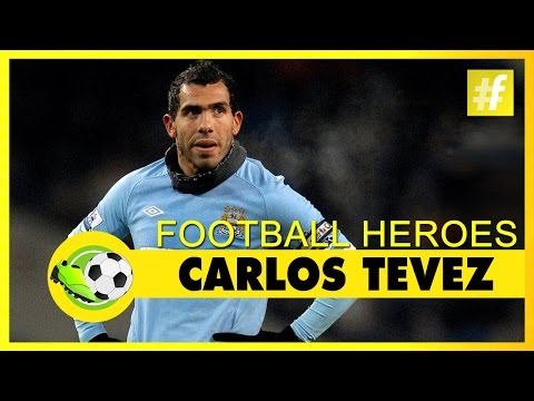 Carlos Tevez | Football Heroes | Full Documentary