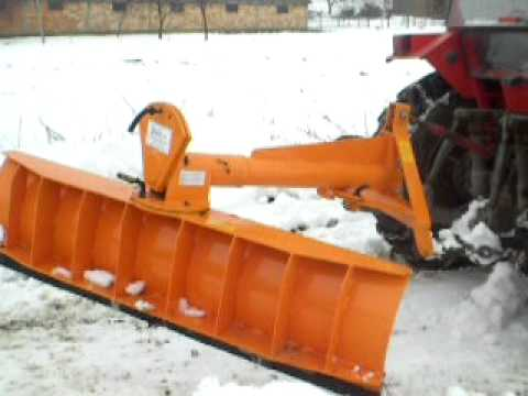 Traktorski cistac snega