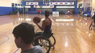 Wheelchair Basketball Dribbling