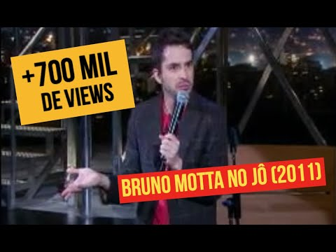 Bruno Motta Stand Up no Jo - Sacanagem na TV, Hotel, Lost, Kombi