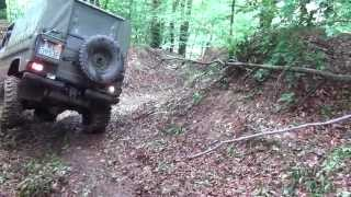 Mercedes Puch 300GD - Downhill