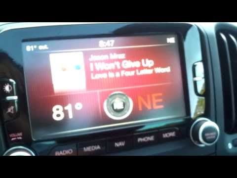 2014 Fiat 500L Uconnect Touchscreen Redneck Review
