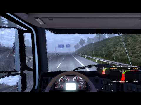 Euro Truck Simulator 2 - Full HD Gameplay - Nrnberg to Dresden - TrackIR5