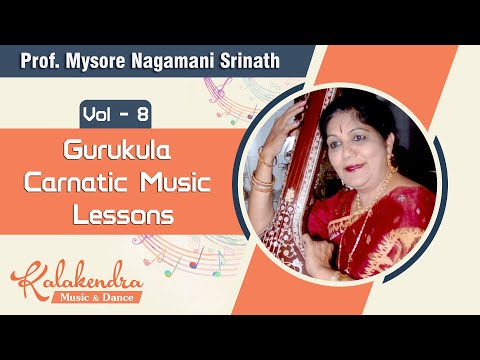 Gurukula - Carnatic Music Lessons Vol 6 - DVD