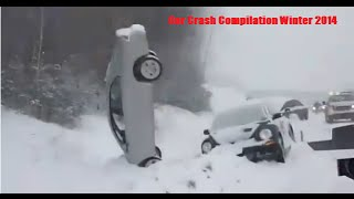 Car Crash Compilation Winter December 2014 Russian Dash Cam Accidents & Car Crashes  2014