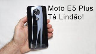 Moto E5 Plus - Smartphone Motorola com Muita Bateria (Unboxing)