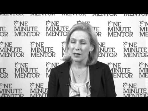 Hearst One Minute Mentor: Kirsten Gillibrand on Fear