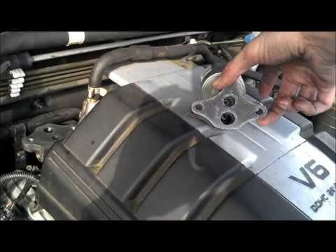 Egr Valve Cleaning 2001 Isuzu Rodeo Youtube