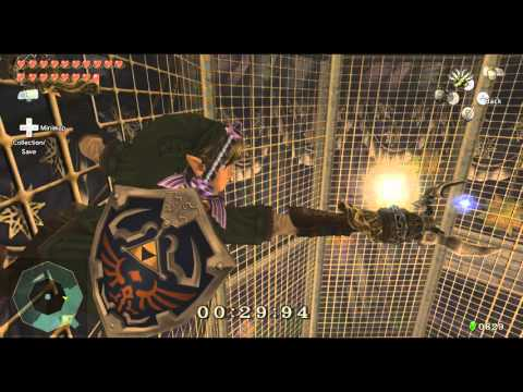 Zelda Twilight Princess HD Star Game 2 Double Clawshot Giant Quiver
