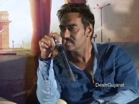 Singham Returns stars Ajay Devgan, Kareena Kapoor interact with media in Gujarat