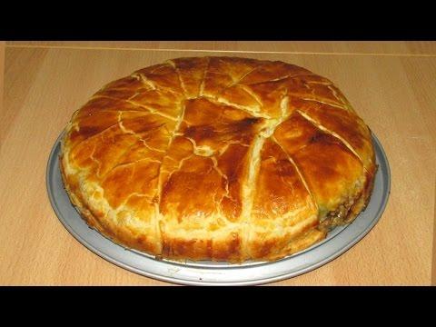 Мясной Греческий Пирог - редкая вкуснятина! (Greek Meat Pie)