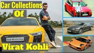 Virat Kohli Cars Collection
