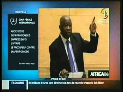L'audience de confirmation des charges:La déclaration de Laurent Gbagbo