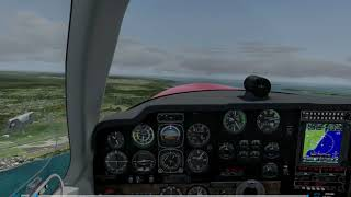 Canadian Xpress® (P3Dv4.4) Mudspike Xmas Flight.  Leg 30 - WABB - WAJJ Bonanza V35.