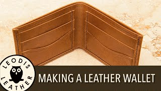 Making a Handmade Leather Wallet