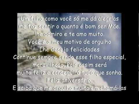 Mensagem De Aniversario De Mãe Para Filho  (a) video