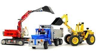 Lego Technic Construction Crew 42023 - Lego Speed Build