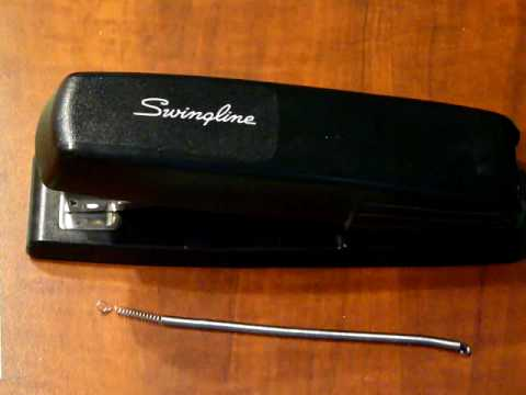 Swingline 545 Stapler - spring replacement
