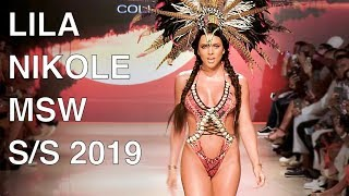LILA NIKOLE | SWIMWEAR 2019 | MIAMI FASHION SHOW | EXCLUSIVE