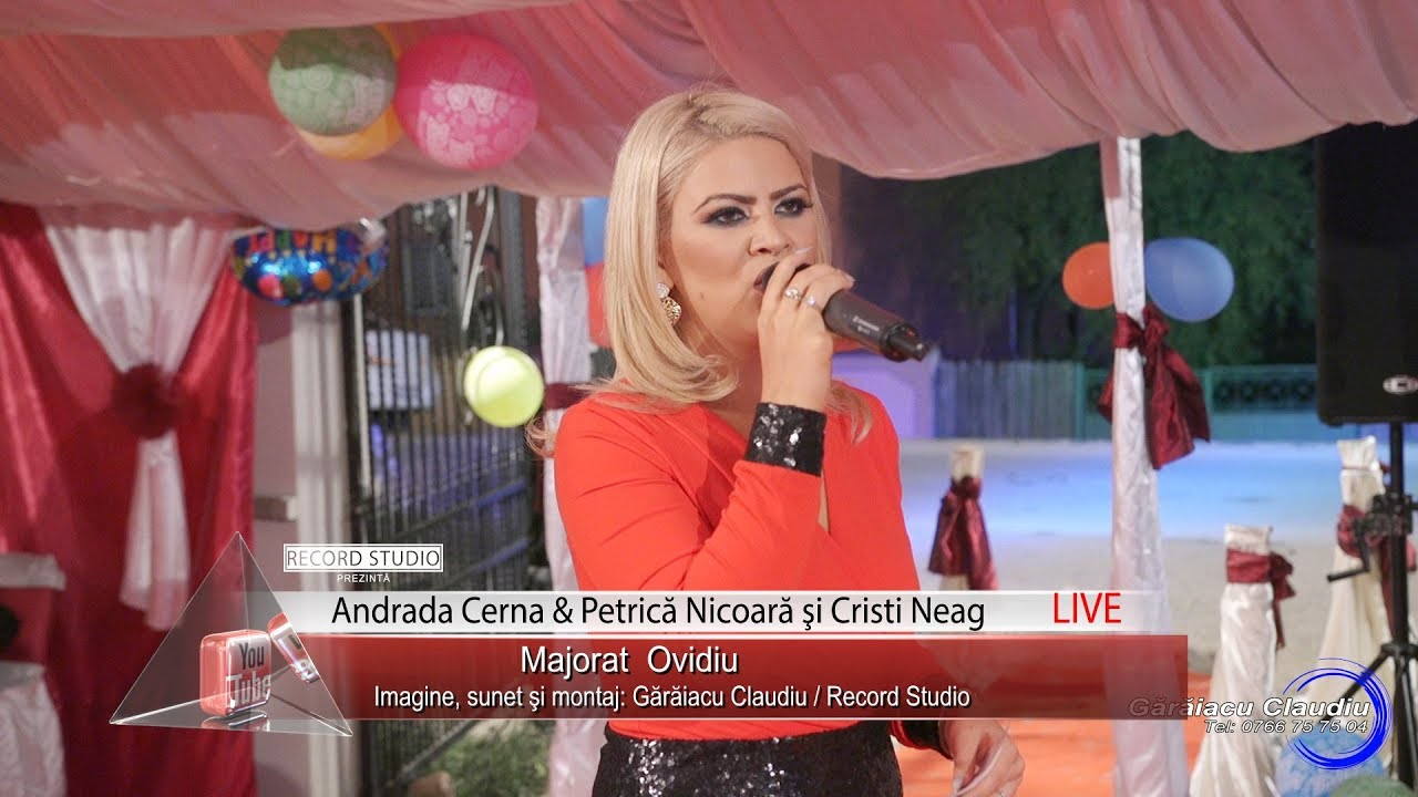 Andrada Cerna & Petrica Nicoara | Am un baiat ca un soare, da-i sanatate | LIVE Majorat Ovidiu 18