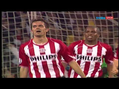 PSV Eindhoven 3-1 Milan   UEFA Şampiyonlar Ligi En İyi 50 Maç No: 11