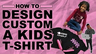 How To Make A Custom Kids Shirt From Start To Finish (With Jada Banks)