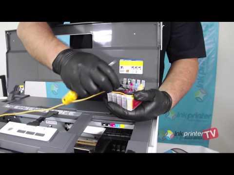 Instalação Bulk Ink Impressora Epson T1110