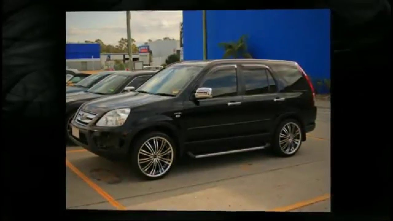 Lowered Honda Crv Honda Crv Custom Rims 20' Inch