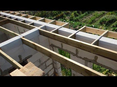 Простой способ самому построить вальмовую крышу ч.2