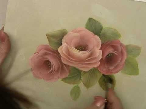 Painting by louisiana artist accepted into mda art for Easy way to paint a rose